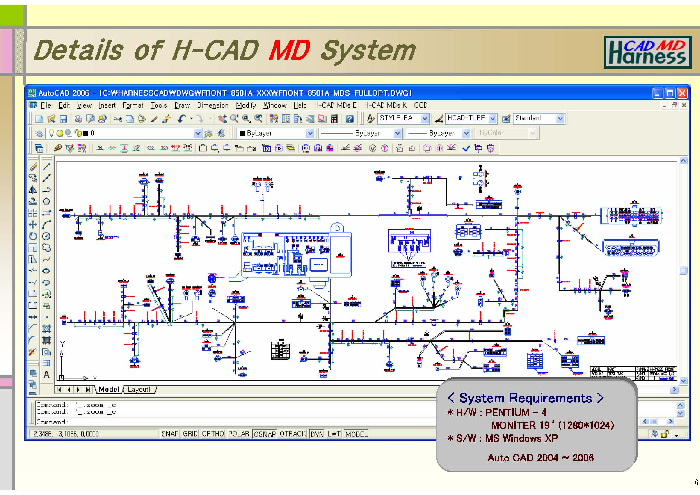 St systems homepage Cad system